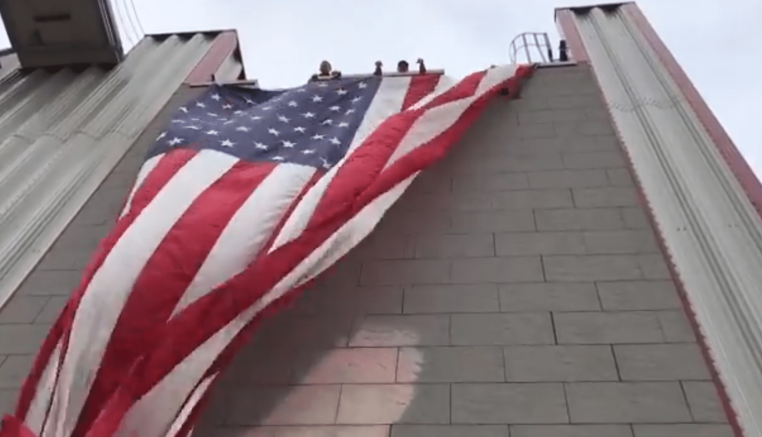 Woman Arrested After Burning Us Flag In 9 11 Memorial On