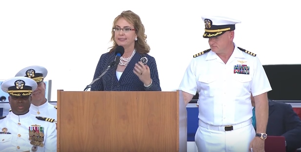 giffords - U.S. Navy Commissions Warship Named For Gun Control Advocate Gabby Giffords