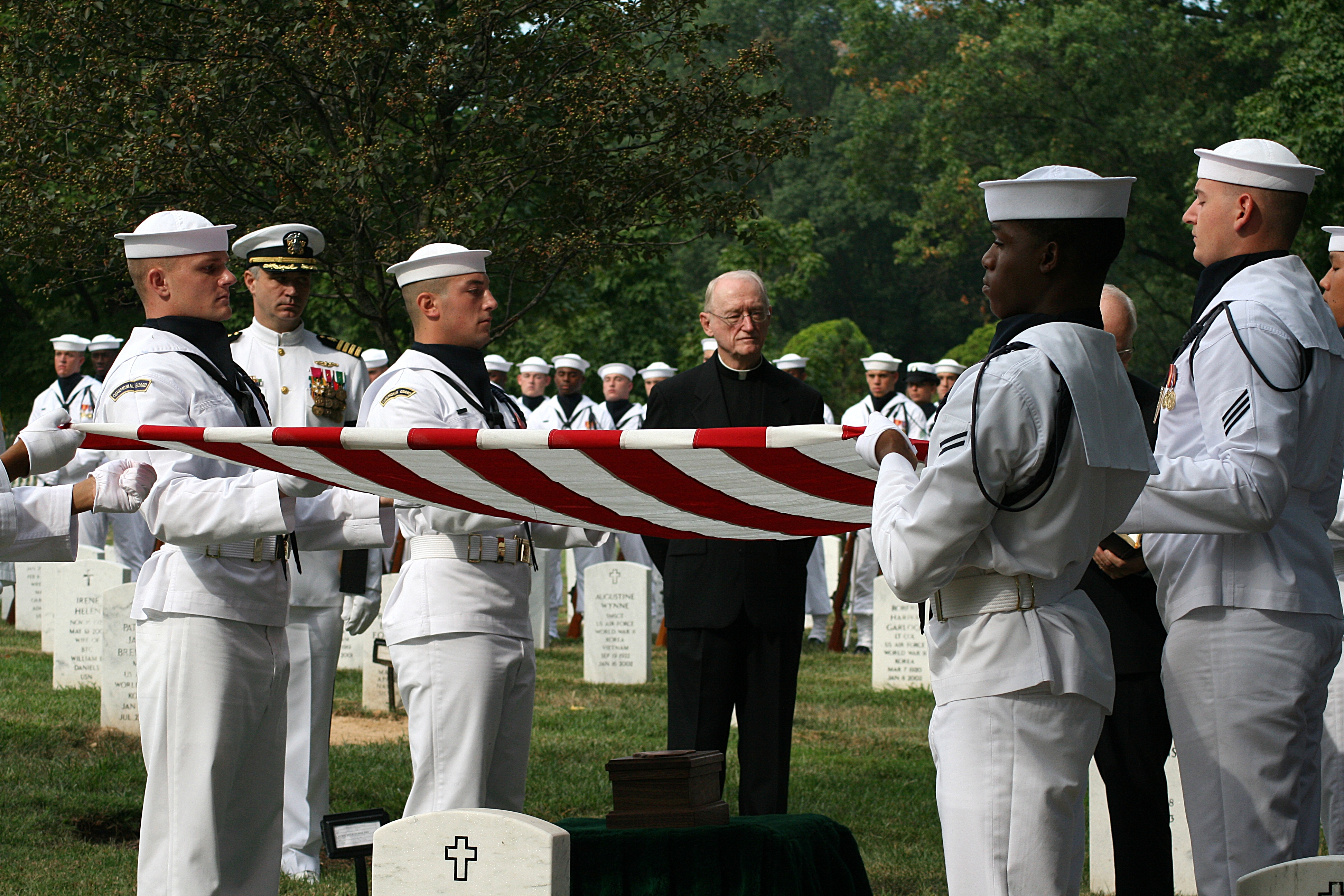Don't You Dare Miss This Video Of The U.S. Navy Ceremonial Guard At Arlington Cemetery Honoring Our Fallen Featured