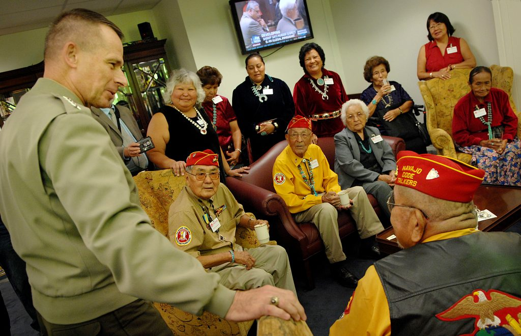 VIDEO: 'They fought for our language': Navajo Code Talkers honored for service