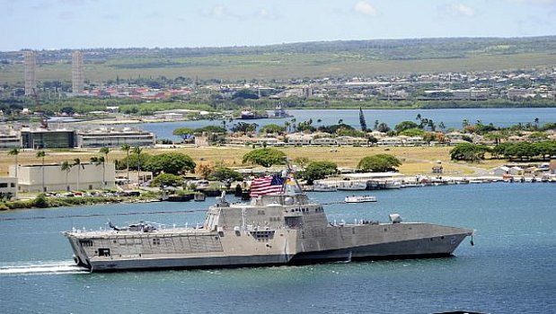 USS Independence docks in Pearl Harbor for joint exercises with Chinese (2 videos) Featured