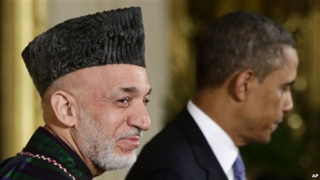 Harmid Karzai refused to meet with Barack Obama
