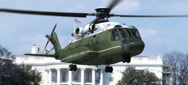 marine1 landing 620x280 - New Marine-1 Presidential Helicopters Finally Revealed