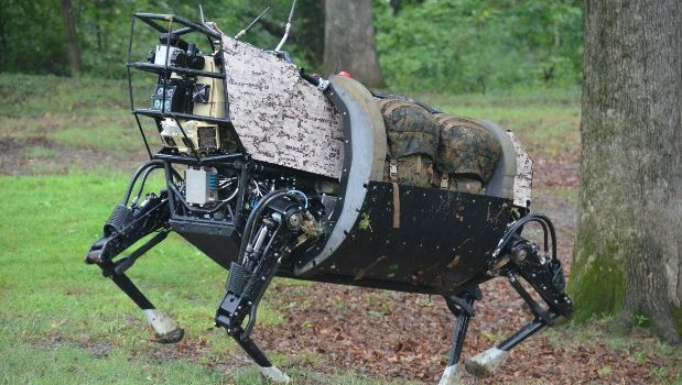 Marines test robot for hauling gear and wounded (video) Featured
