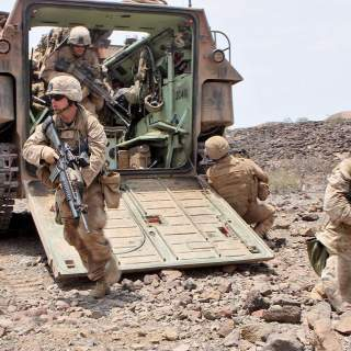 marinesout 320x320 - 5 Marines in critical condition after their vehicle bursts into flames at Camp Pendleton