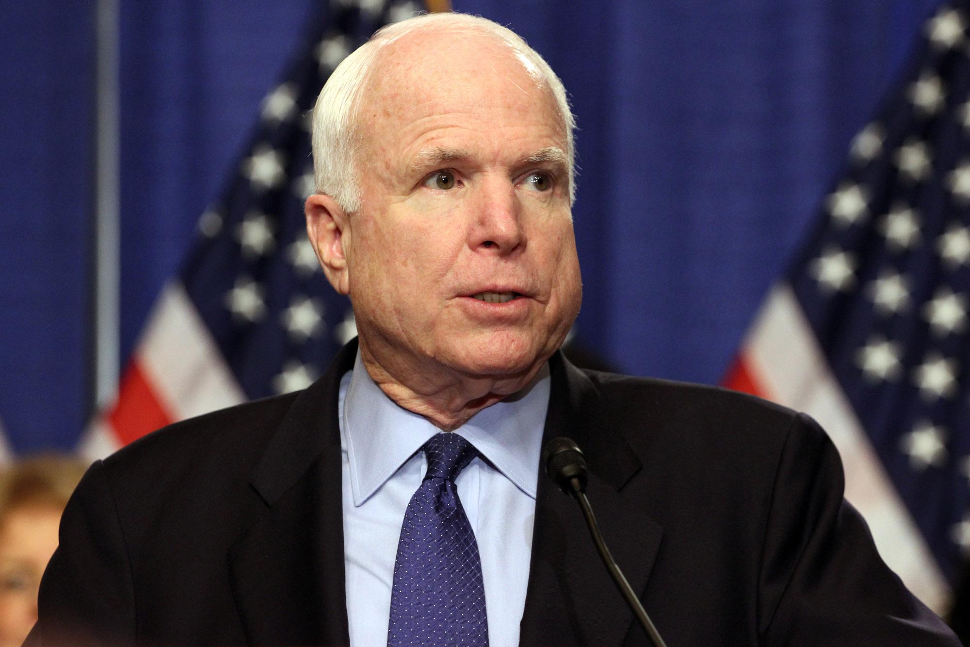 mccain 1 - Senator John McCain launches effort to block Trump's transgender troops ban with four other Senators