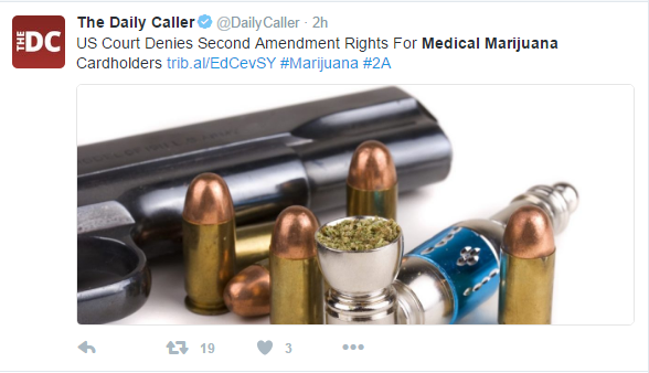 med mar - U.S. Court Upholds Decision To Ban The Sale Of Guns To Medical Marijuana Card Holders