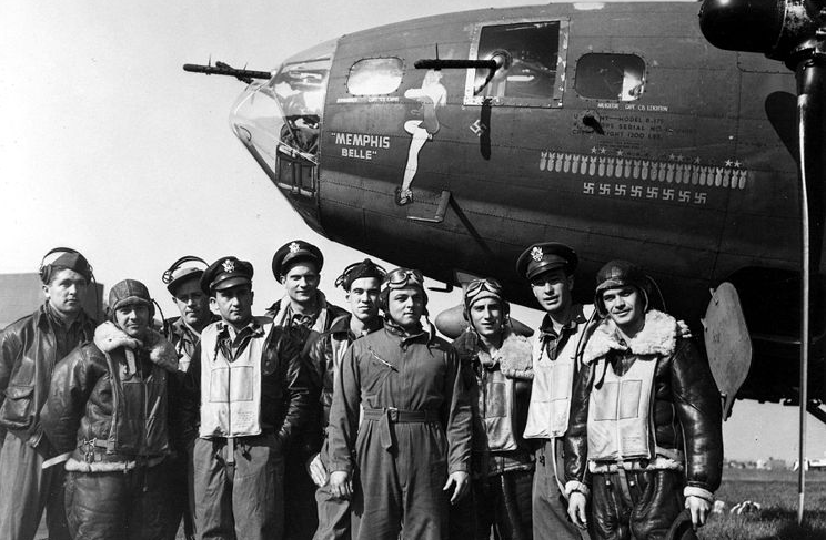 memphis - This Day In History: The Memphis Belle Flew Its 25th Bombing Mission