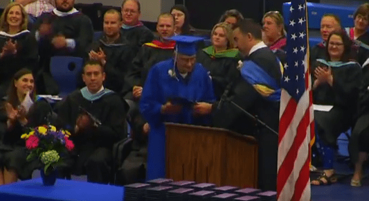 71 Years A Graduate: World War II Vet Receives High School Diploma Seven Decades Later Featured