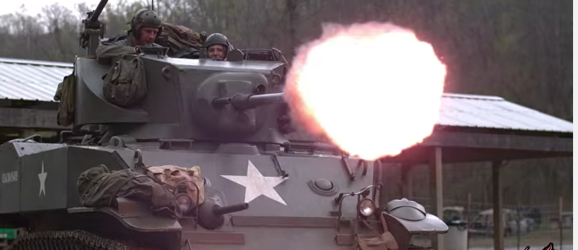 Watch This Tank Utterly Destroy The Scooby Doo Mystery Machine Minivan Featured