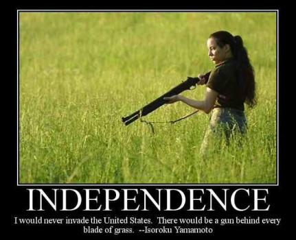 never invade the us 431x350 - Independence Is A Gun Behind Every Blade Of Grass