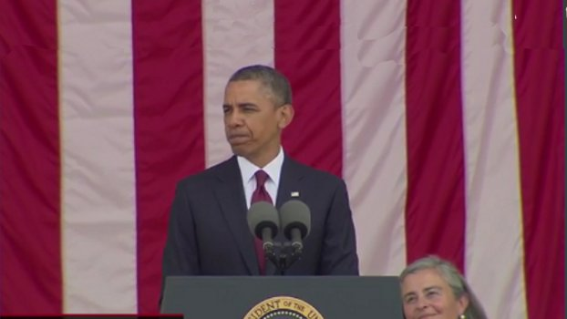 (VIDEO) President Obama's Memorial Day Address At Arlington National Featured