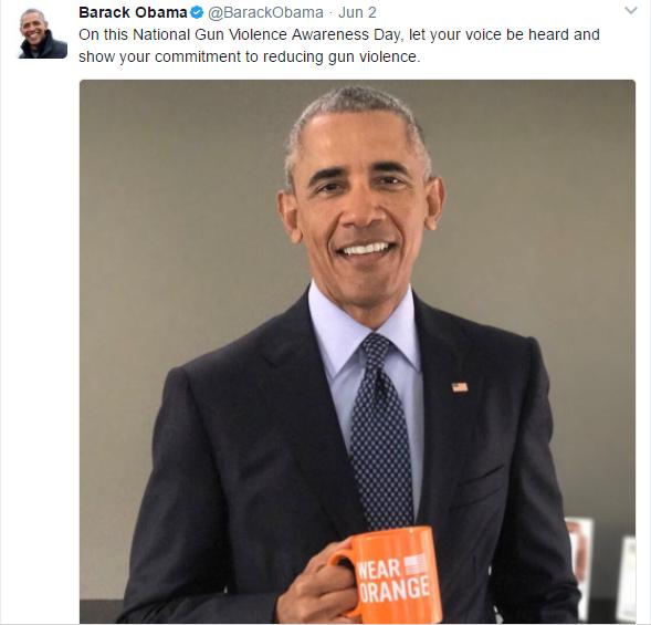 orange 5 - Hollywood Stars Wear Orange To Raise Awareness For Gun Violence