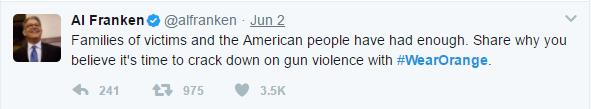 orange - Hollywood Stars Wear Orange To Raise Awareness For Gun Violence