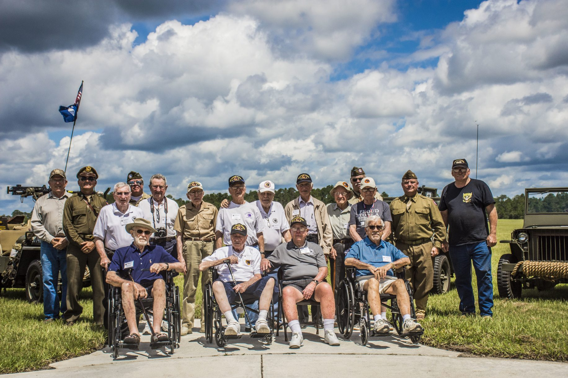 3 Men Walk 100 Miles To Raise Money For Veterans Featured