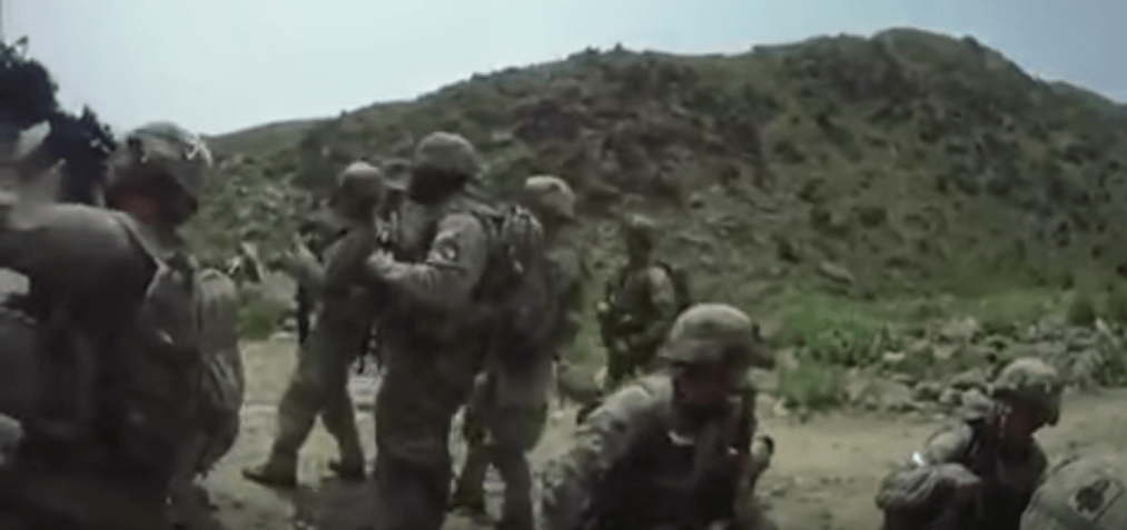 Watch real combat footage of US soldiers getting ambushed in Afghanistan Featured