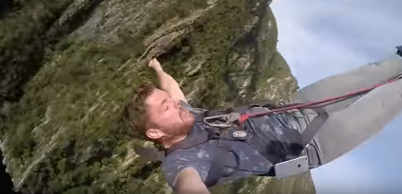 (VIDEO) Man Does World's Highest Bungee Jump But Forgets To Take Phone Out His Pocket Featured