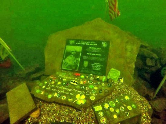 An Inside Look At Navy SEAL Adam Brown's Underwater Memorial Featured