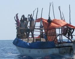 Somali Pirates Surrender