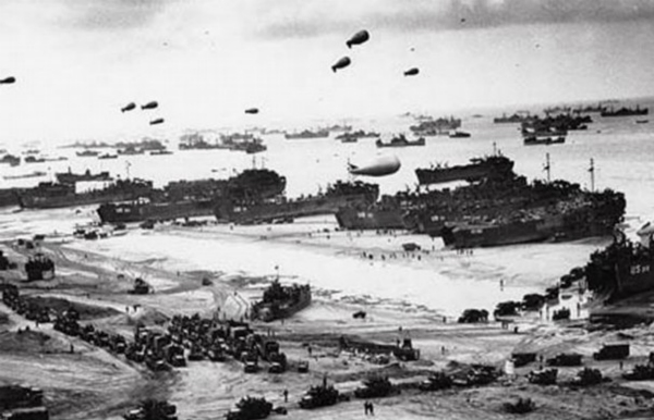 You Won't Believe This Infographic Showing How Massive D-Day Was Featured