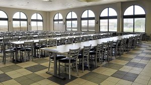 Potemkin base tour mess hall at Fort Sill