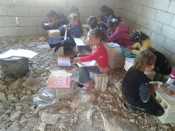 raqqa school - NEW Imagery from the Syrian Front Lines