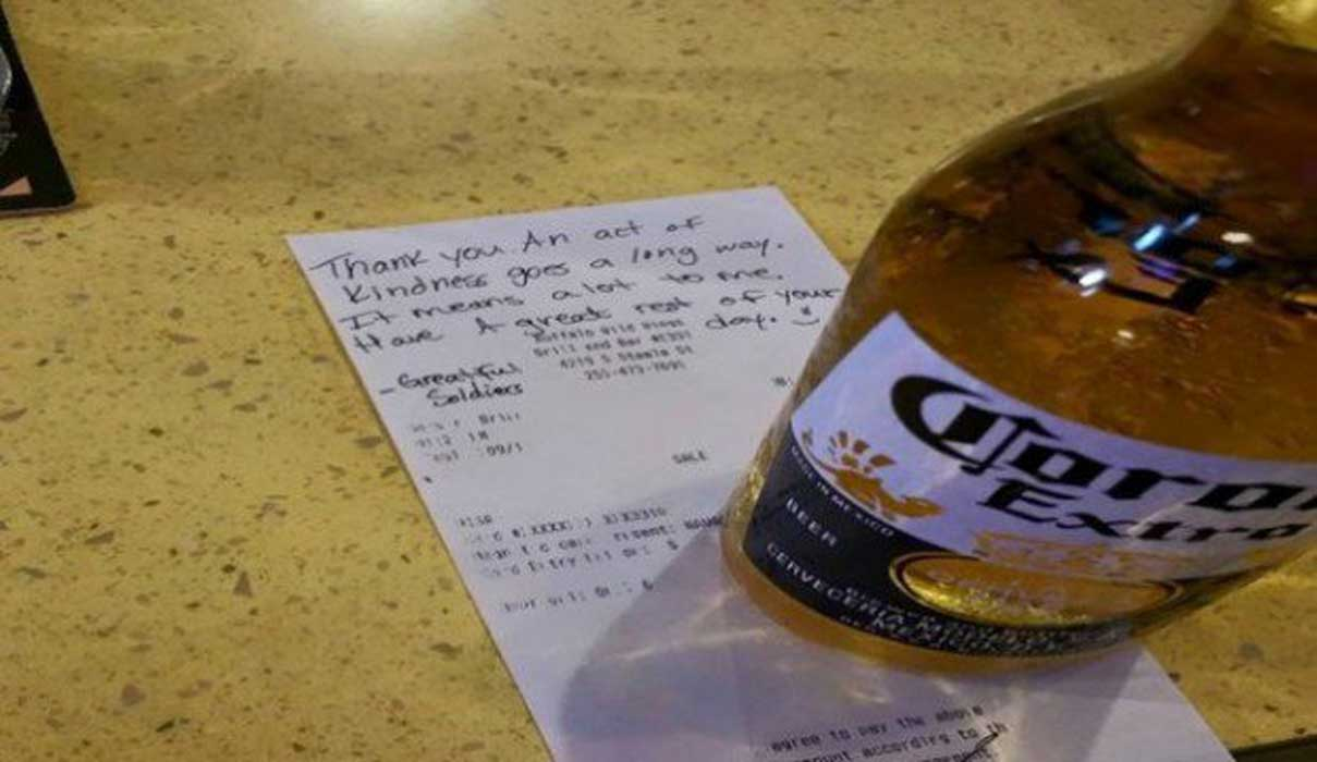 Buffalo Wild Wings Denies Soldier A Beer, But Makes Up For It In A Big Way Featured