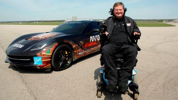 (VIDEO) Semi-Auto Motorvehicle Helps Quadriplegic Racer Sam Schmidt Drive Again Featured