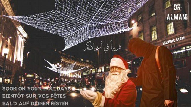 santa 1 - ISIS threatens attacks on New Year's Day, the Vatican and the World Cup