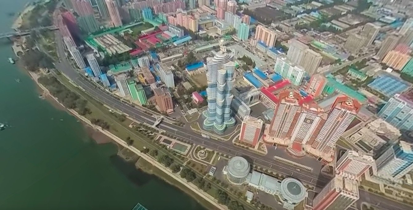First 360-degree aerial video of Pyongyang shows North Korea's bizarre capital like never before Featured