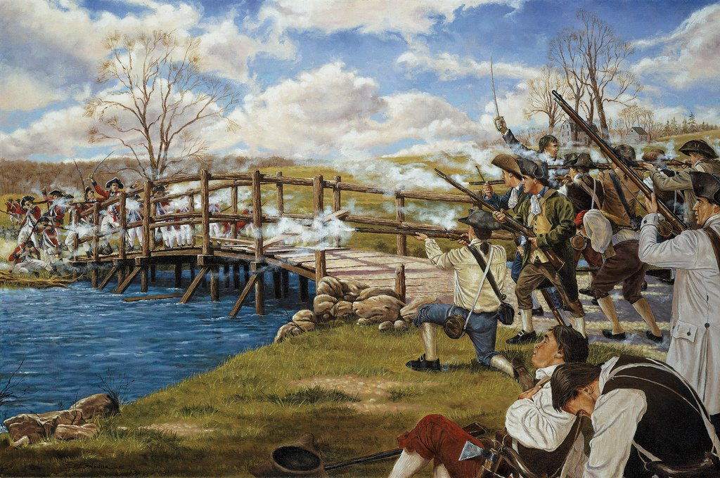 shot heard - This Day In History: The American Revolutionary War Began