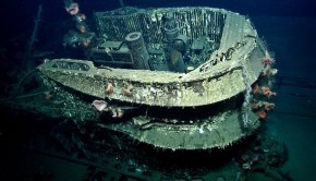 Sunken U-Boat U-166 Found in Gulf