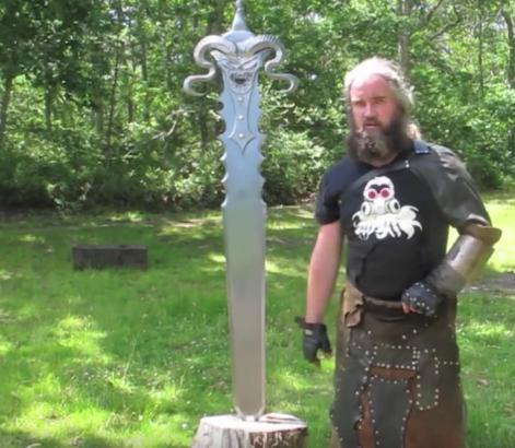 sword - This Blacksmith Makes Insanely Massive Fantasy Swords