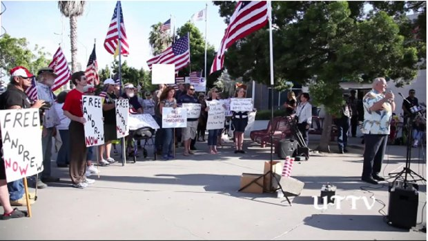 (VIDEO) Big Rally for Tahmooressi As Legal Maneuvers Begin Featured