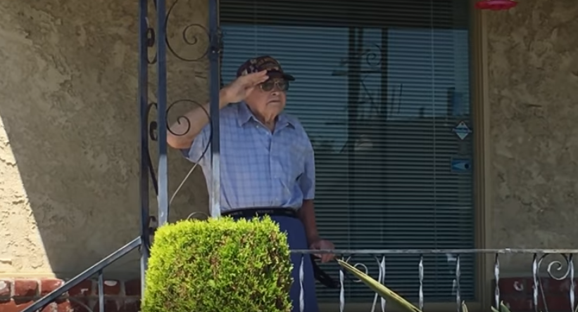 Memorial Service Held On USS Iowa To Honor 99 Year-Old World War II veteran Featured