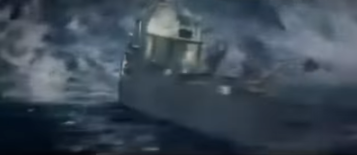 Iran Propaganda Video Shows Iranians Destroying American Naval Fleet With Huge Tidal Wave Featured