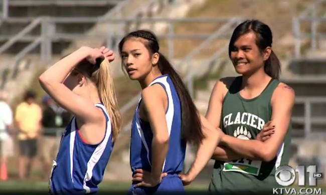 Transgender Teen Boy Dominates Girl Track Meet – Girls Lash Out Featured