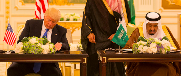 trrrrr - U.S. Signs $350 Billion Weapons Deal With Saudi Arabia