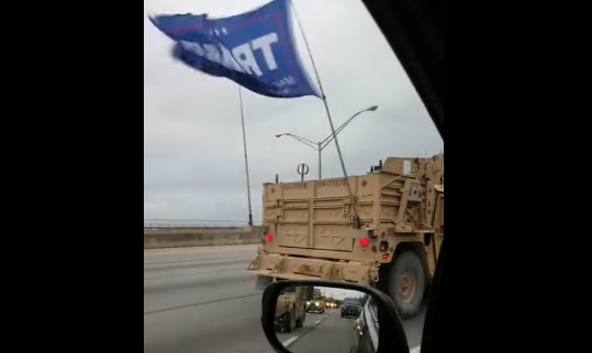 Navy Punishes Special Warfare Forces Who Flew Trump Flag On Military Convoy Featured