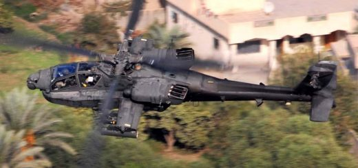 "Photo by Chief Warrant Officer 4 Daniel McClinton, 1st ACBOctober 15, 2007An AH-64D Apache from Company B, 1st ""Attack"" Battalion, 227th Aviation Regiment, 1st Air Cavalry Brigade, 1st Cavalry Division, flies over a residential area in the Multi-National Division-Baghdad area Oct. 12. The Apache crew was conducting a reconnaissance mission to keep an eye out for enemy mortar and anti-aircraft systems."