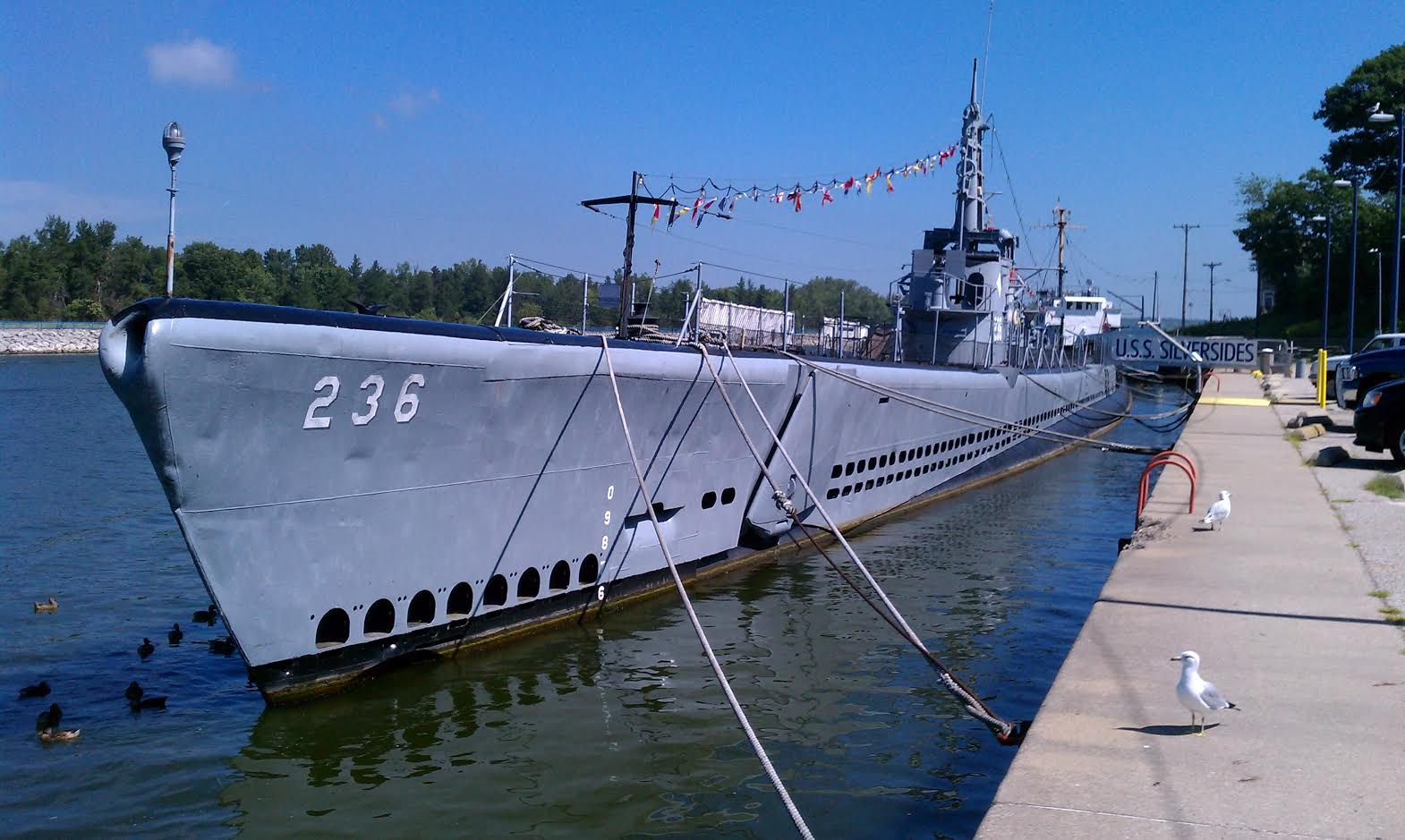 Op-ed: Saving The History of World War II Submarine USS Silversides Featured