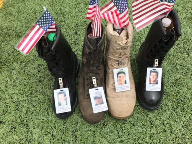 unnamed 37 - More Than 7,000 Boots Go On Display At Fort Bragg To Honor Fallen Service Members
