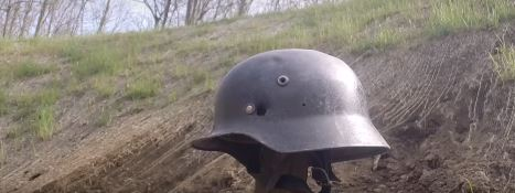 Join A WWII History Buff As He Ballistics Tests A WWII German M40 Helmet Featured