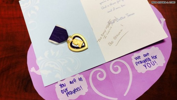 Why An Anonymous Veteran Sent His Purple Heart Medal To A 12-year-old Slenderman Victim Featured