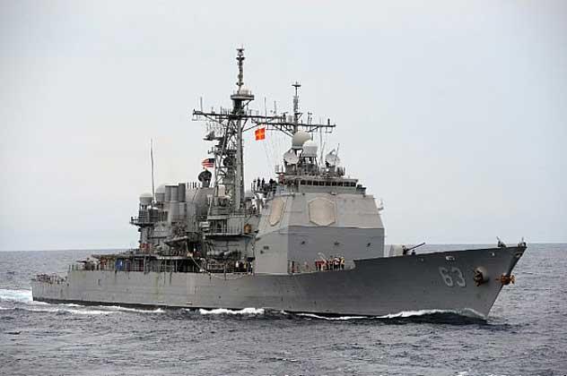 SHOWDOWN: Chinese Try To Halt U.S. Cruiser In International Waters Featured