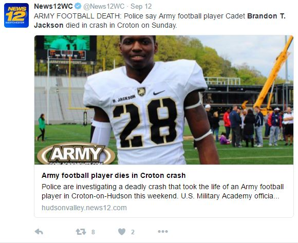 wewree - Army West Point Football Sophomore Dies In Tragic Car Crash