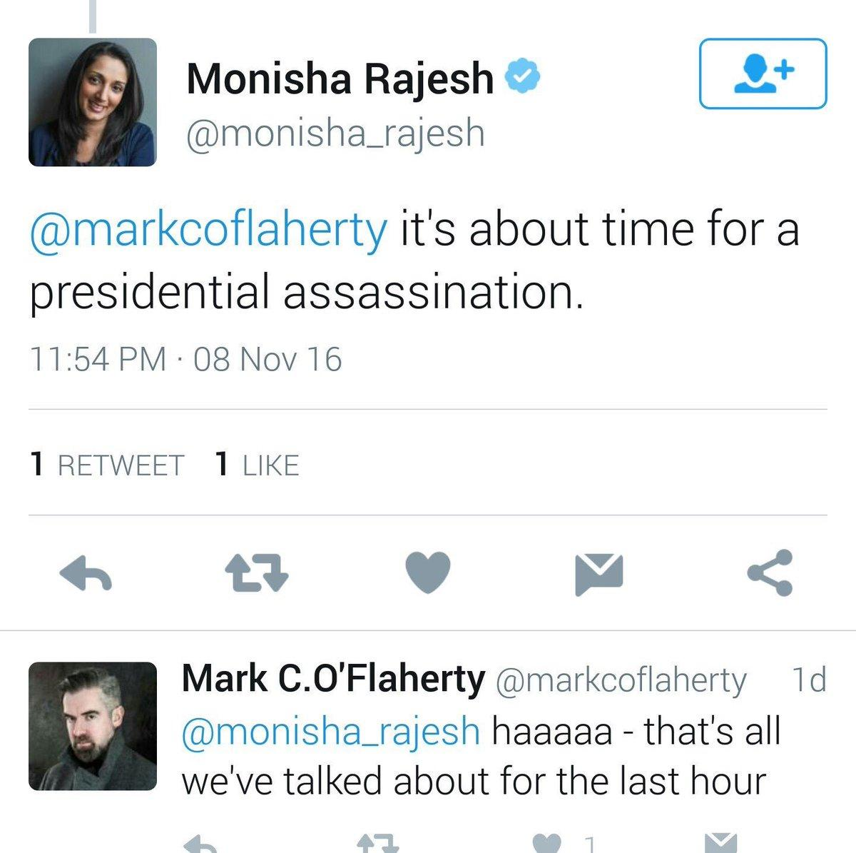 "zqp8tx1puwwx - Journalist Deletes Her Account After Tweeting ""It's About Time For A Presidential Assassination"""